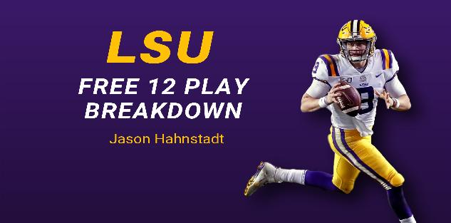 LSU: PLAYBOOK BREAKDOWN VS GEORGIA