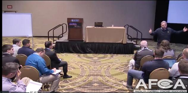 AFCA Convention Nashville | Don Brown | Defensive Philosophy | University of Michigan