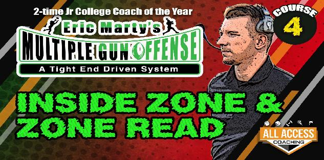 Course 4 Inside Zone & Zone Read