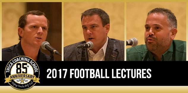 2017 Coaching School Football Lectures