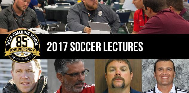 2017 Coaching School Soccer Lectures