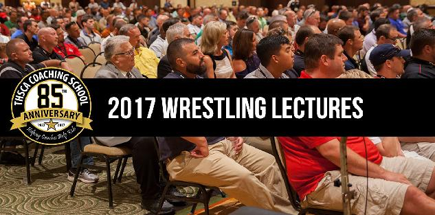 2017 Coaching School Wrestling Lectures