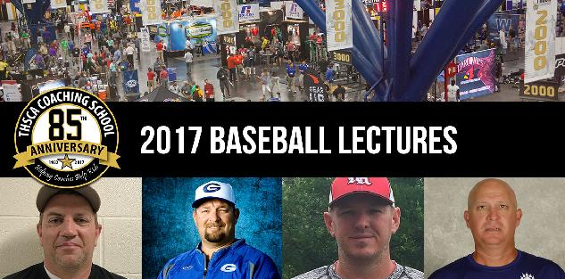 2017 Coaching School Baseball Lectures