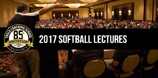 2017 Coaching School Softball Lectures