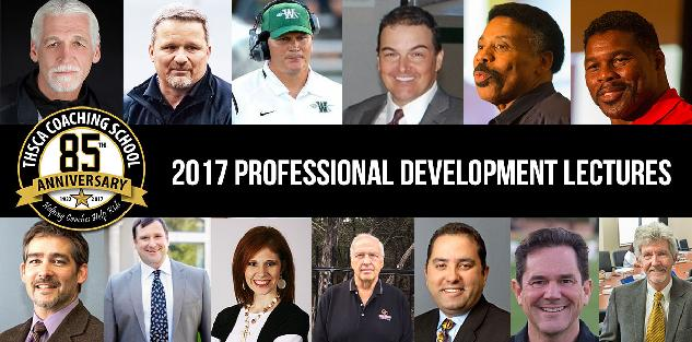 2017 Coach School Professional Development Lectures