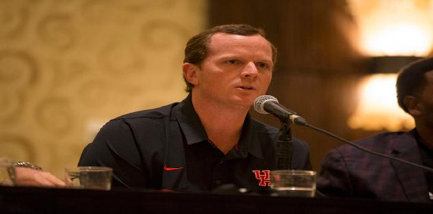 2017 Coaching School Speaker-Major Applewhite, University of Houston