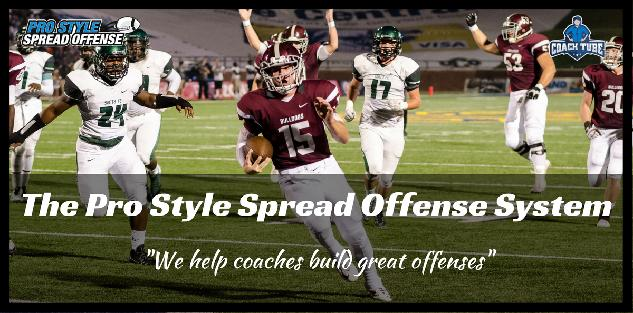 Pro Style Spread Offense System