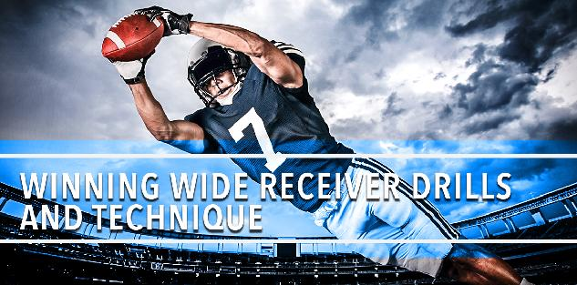 Winning Wide Receiver Drills and Technique