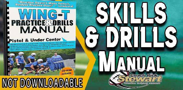 Skills & Drills Manual for Wing T