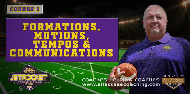 FREE: Formations Motions Tempos in Gun JetRocket Offense