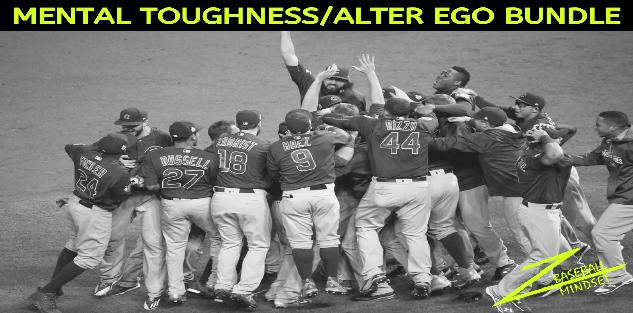 Baseball Mental Toughness & Alter Ego BUNDLE
