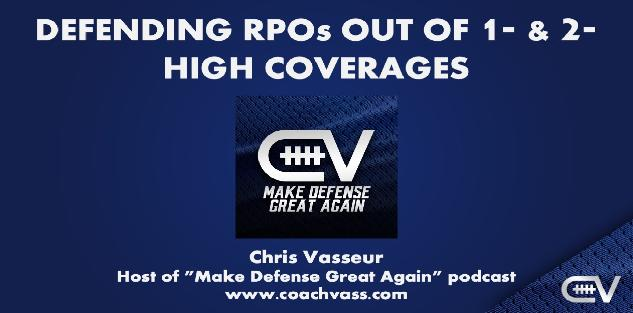 Defending RPOs out 1, 2, and 3-High with Even and Odd Fronts