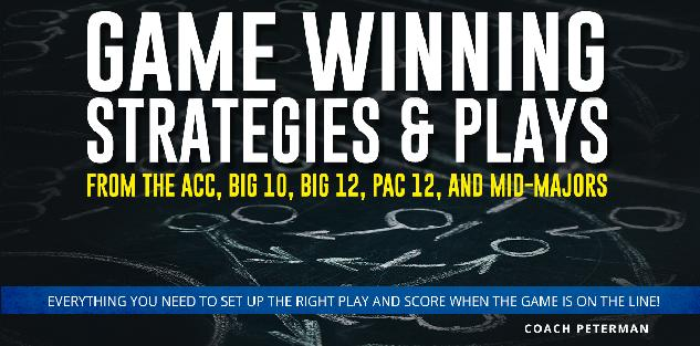 Game Winning Strategies & Plays from the ACC, Big 10, Big 12, Pac 12, and Mid-Majors