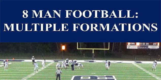 Using Multiple Formations in 8 Man Football
