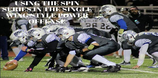 USING THE SPIN SERIES IN THE SINGLE WING STYLE POWER OFFENSE
