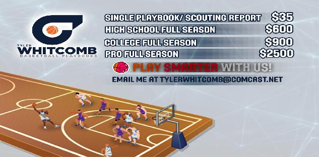 Single Playbook/ Scouting Report designed for you