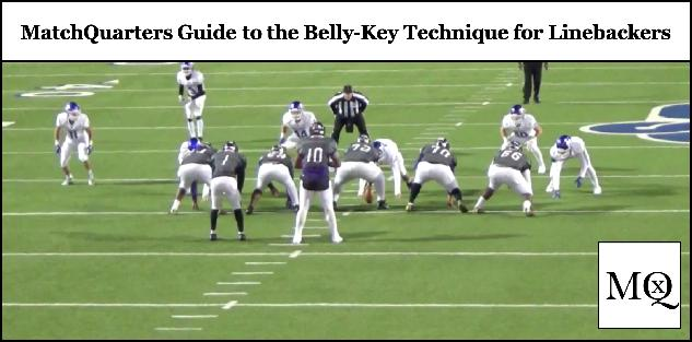 MatchQuarters Guide to the Belly-Key Technique for Linebackers