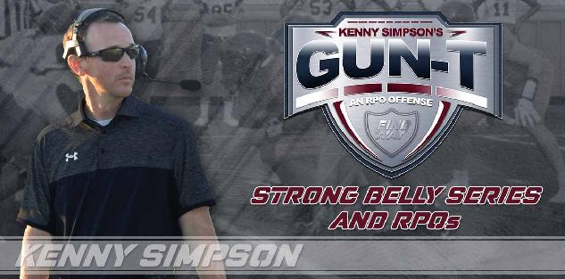 Coach Simpson`s Gun T RPO offense - Strong Belly Series