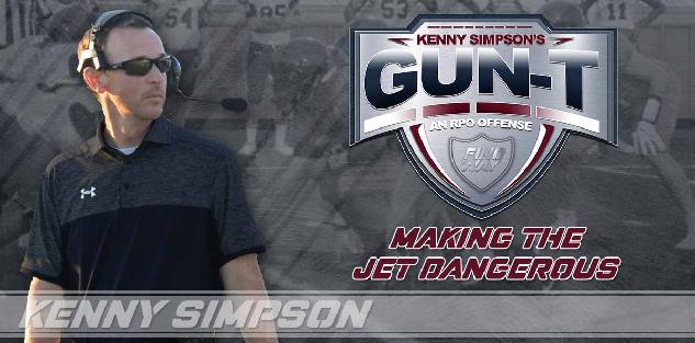 Coach Simpson`s Gun T RPO offense - Making the Jet Dangerous