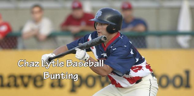 Chaz Lytle Baseball Bunting
