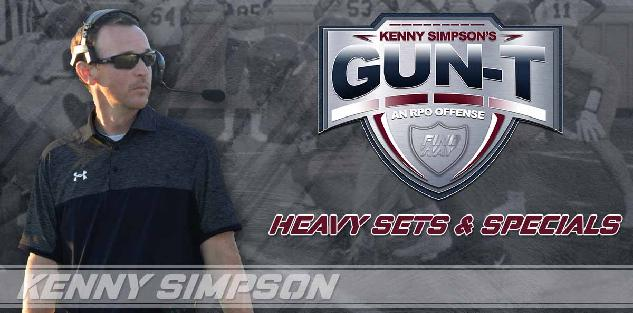 Coach Simpson`s Gun T RPO Offense - Heavy set and Specials