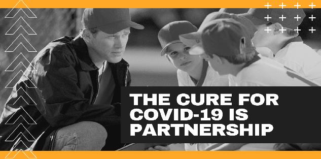 The CURE for COVID-19 is partnership