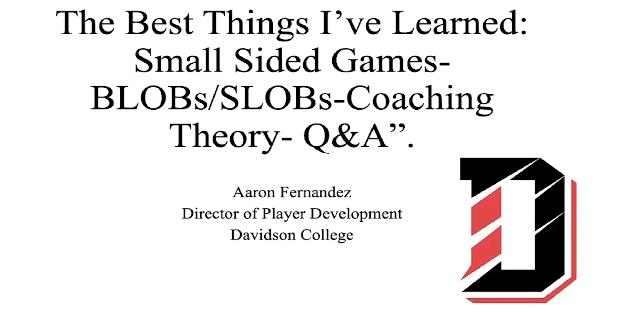 Aaron Fernandez: Small Sided Games for Player Development