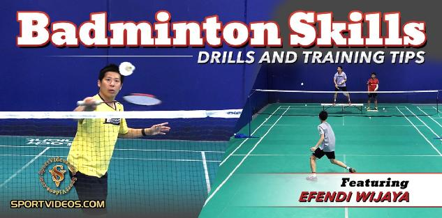 Badminton Skills, Drills and Training Tips featuring Coach Efendi Wijaya