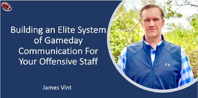 Building an Elite System of Gameday Communication For Your Offensive Staff