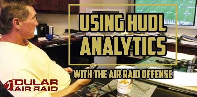 Using Hudl Analytics with the Air Raid Offense
