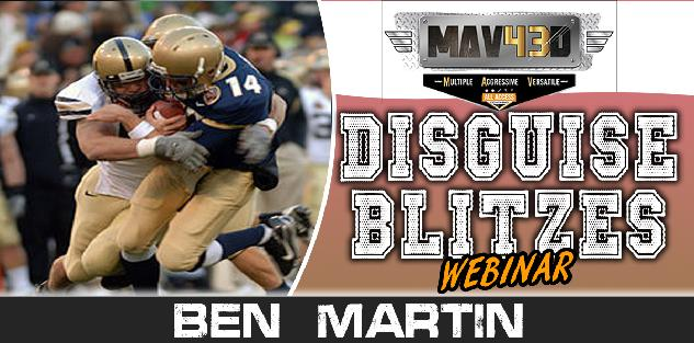 FREE Webinar: Disguise Blitzes in MAV43 Defense