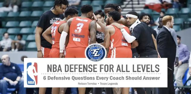 NBA Defense for All Levels: 6 Defensive Questions Every Coach Should Answer