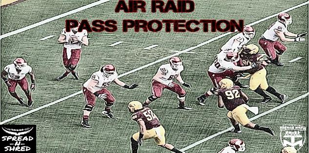 Pass Protections in the Air Raid Offense