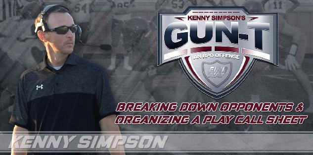 Gun T RPO offense - Breaking down opponents and organizing a call sheet