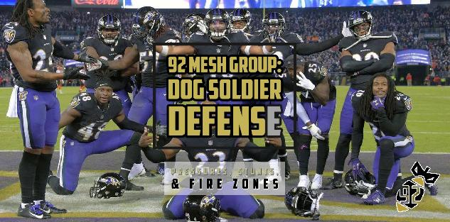 Dog Soldier Defense (Part 2): Blitzes, Stunts, & Fire Zones
