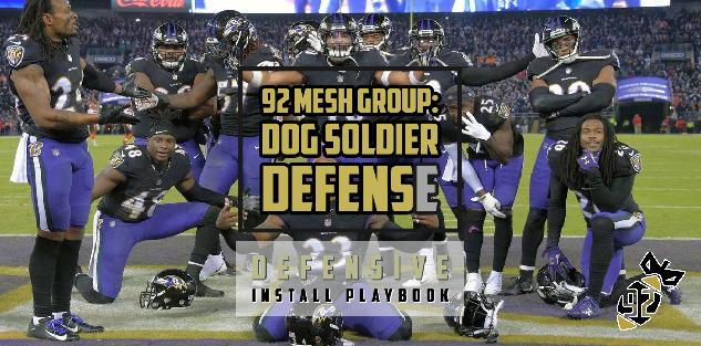Dog Soldier Defense 3-4 Install Playbook