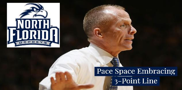 Pace Space Embracing 3-Point Line