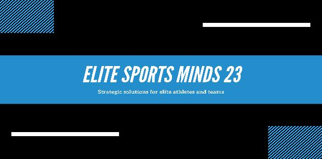 Build your elite sports mind now! For players aged 16 and over male and female