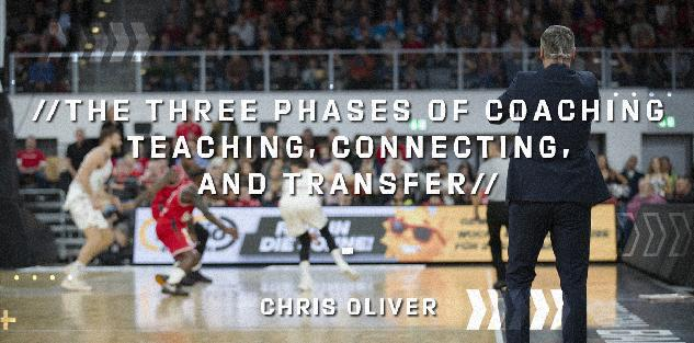 The Three Phases of Coaching - Teaching, Connecting, and Transfer