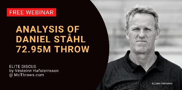 Daniel Stahl 72.95m throw analysis by coach Vésteinn Hafsteinsson FREE WEBINAR