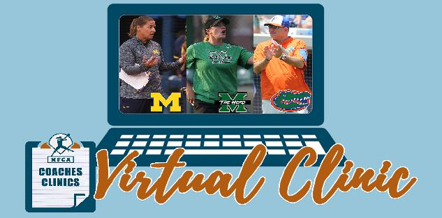 NFCA Virtual Coaches Clinic featuring Jennifer Brundage, Megan Smith, and Tim Walton