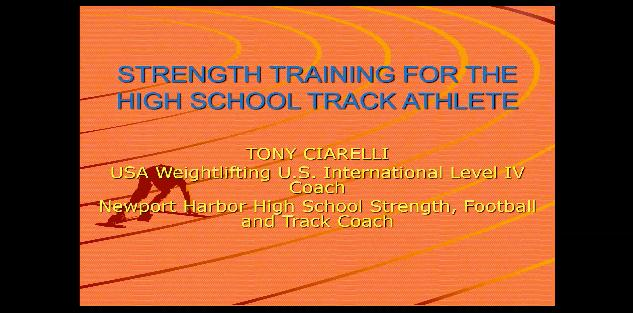 Strength Program for the Throws