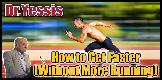 How to Get Faster Without More Running