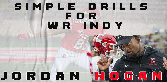 Jordan Hogan- Simple Drills for WR Indy