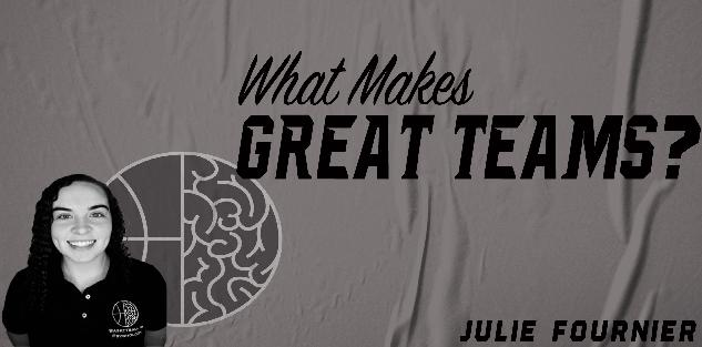 What Makes Great Teams