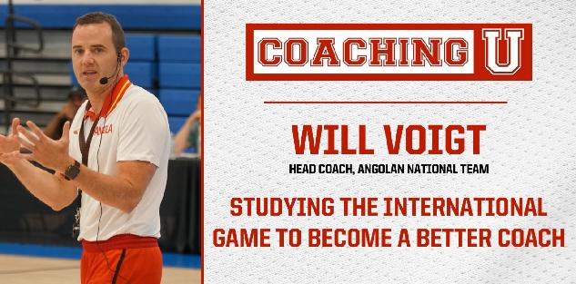 Will Voigt: Studying the International Game to Become a Better Coach