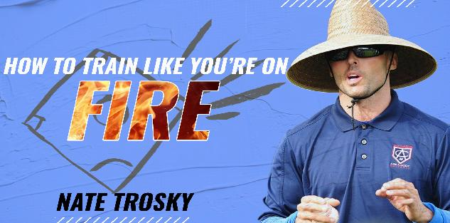 A Conversation w/ Nate Trosky on Player Development - How To Train Like Your Hair Is On Fire