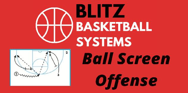 Ball Screen Offense System