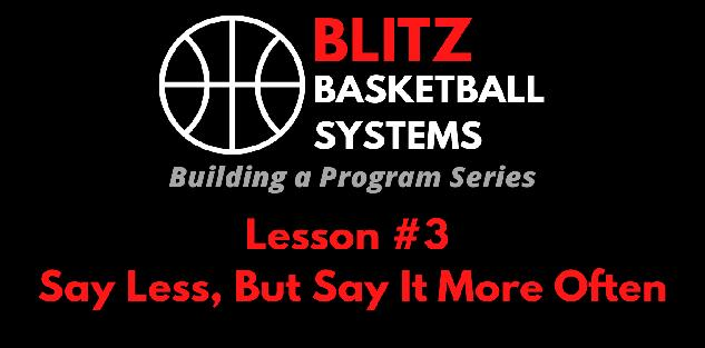 Building a Program Series: Say Less, But Say It More Often