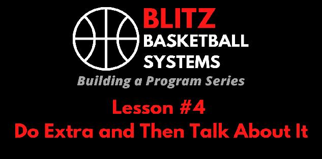 Building a Program Series: Do Extra and Then Talk About It